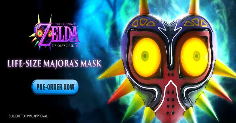 Disponible para su reserva la Máscara de Majora de First 4 Figures