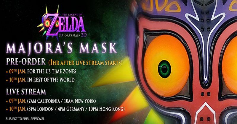 La Máscara de Majora de F4F disponible para su reserva el 10 de enero