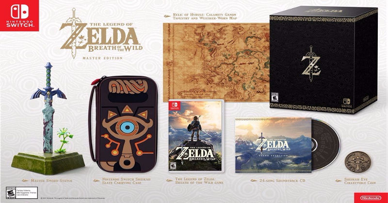 Toda la información de los packs de Breath of the Wild