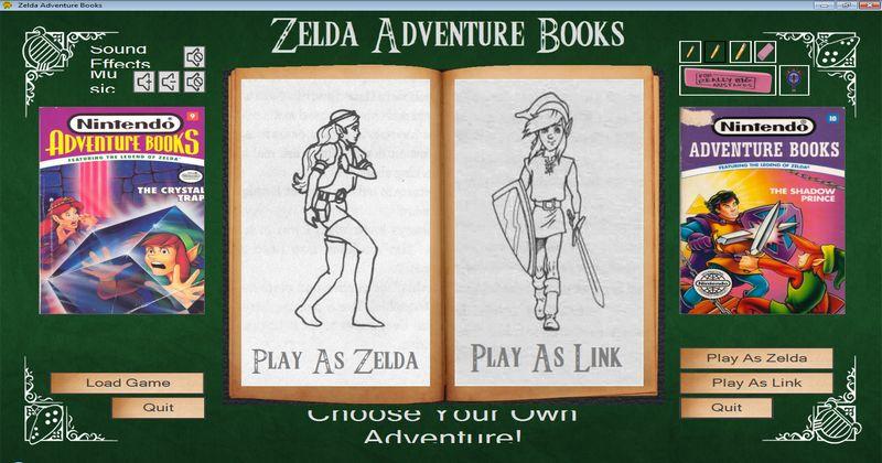 Los libros interactivos de Zelda de los 90, reeditados en formato digital