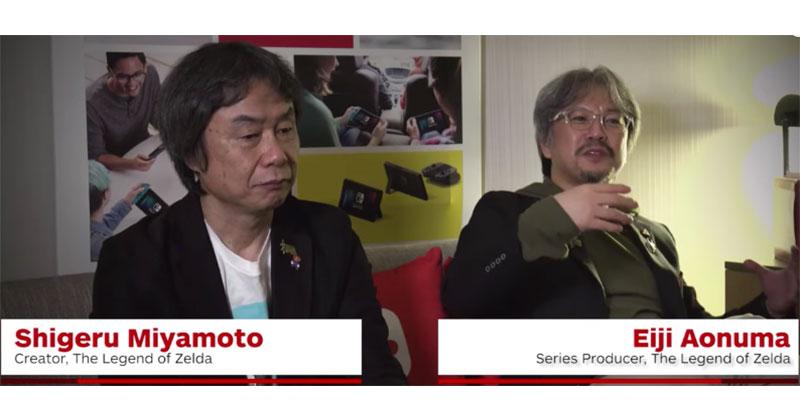 Miyamoto y Aonuma hablan sobre la historia y detalles secretos de Breath of the Wild