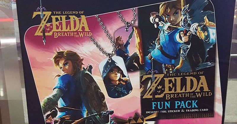 Nuevas Trading Cards de Breath of the Wild
