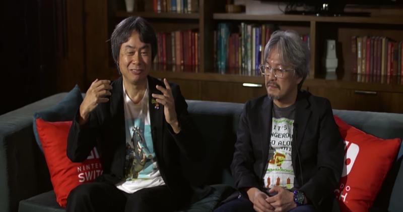 Aonuma/Miyamoto hablan de la importancia de la historia en Zelda: Breath of the Wild