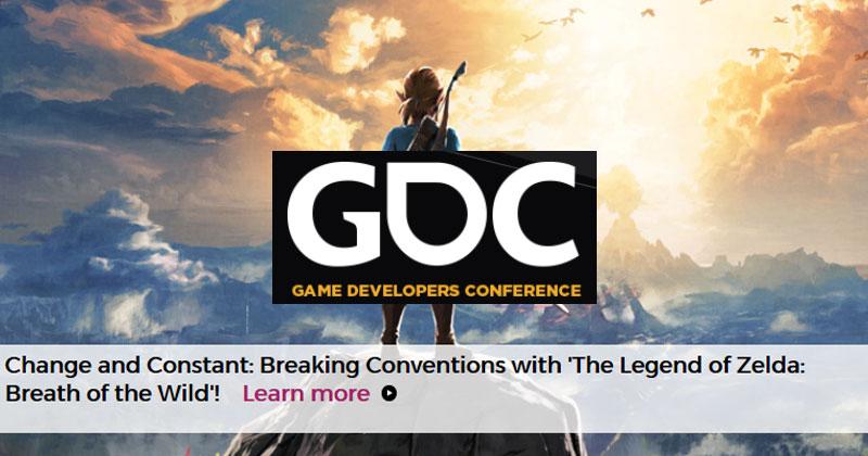 Breath of the Wild en la Game Developers Conference
