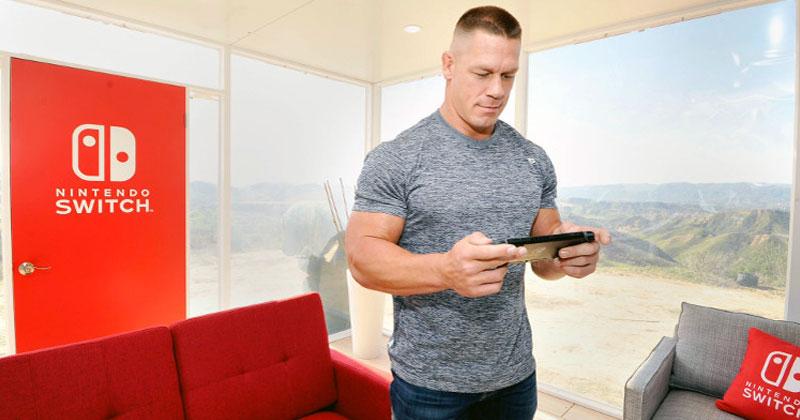 John Cena habla de NES, Nintendo Switch y Breath of the Wild
