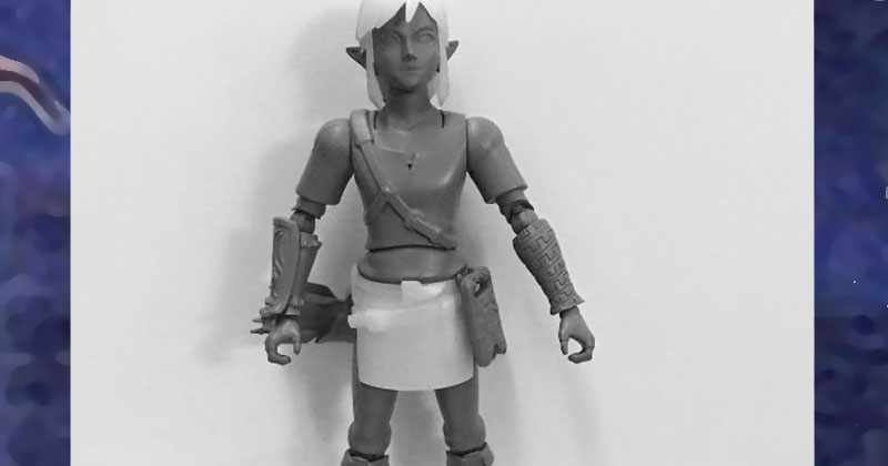 Nueva figura de Link de Breath of the Wild