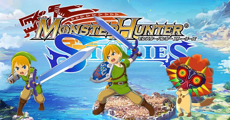 Vídeo del DLC de Zelda de Monster Hunter Stories