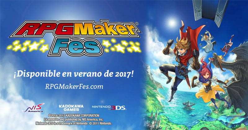 RPG Maker Fes llega a occidente