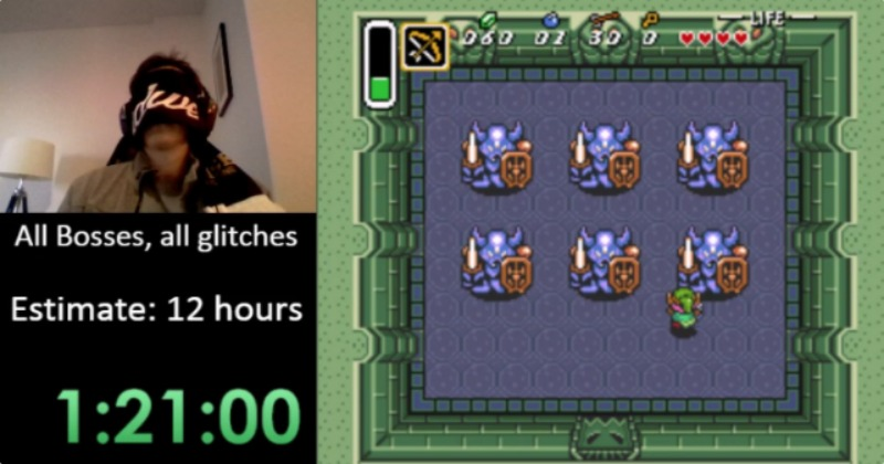 A Link to the Past: Speedrunning con los ojos vendados