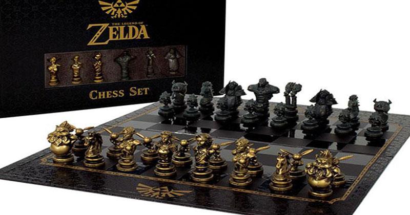 Set de colección de Ajedrez de The Legend of Zelda
