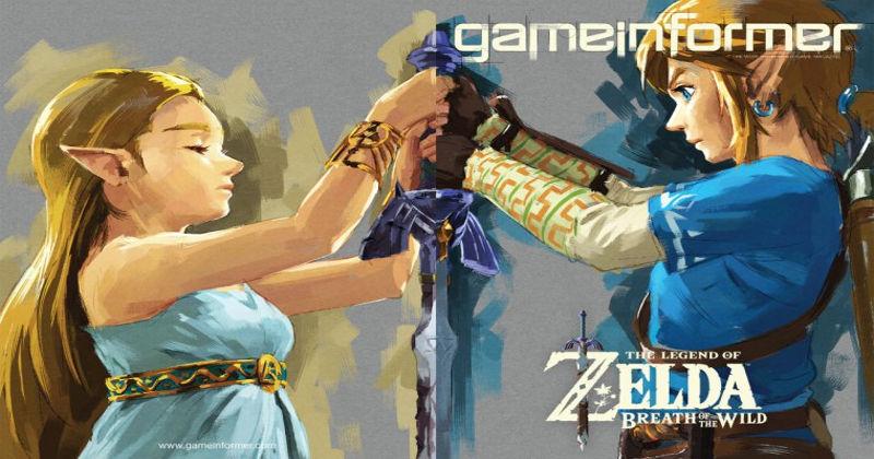 Game Informer dedica portada y un gran artículo a Breath of the Wild