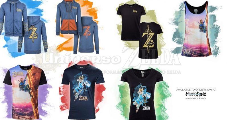 Merchoid presenta su colección de ropa de Breath of the Wild