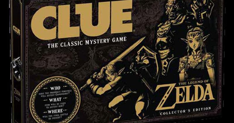 CLUEDO de The Legend of Zelda