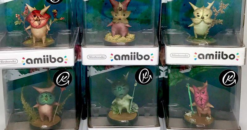 Amiibo customizados de los Kolog