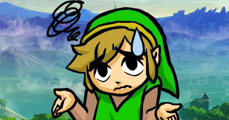 Porqué Link no lleva el sombrero verde en Breath of the Wild