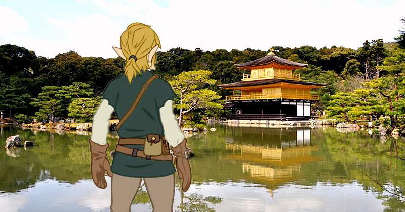 El mapa de Breath of the Wild se inspira en Kyoto