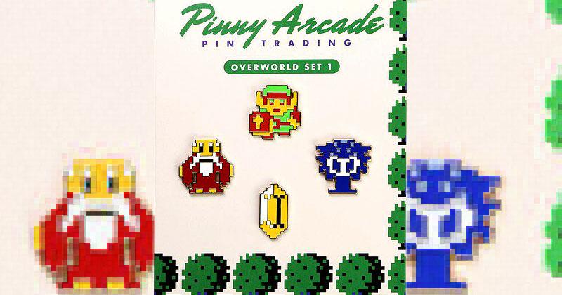 Pins de Zelda de Pinny Arcade
