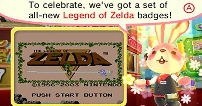 Zelda en el Badge Arcade
