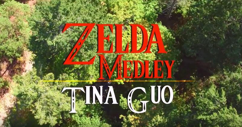Zelda Medley de Tina Guo