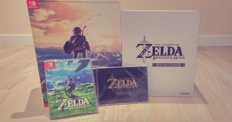 Un vistazo a la edición coleccionista de The Legend of Zelda: Breath of the Wild