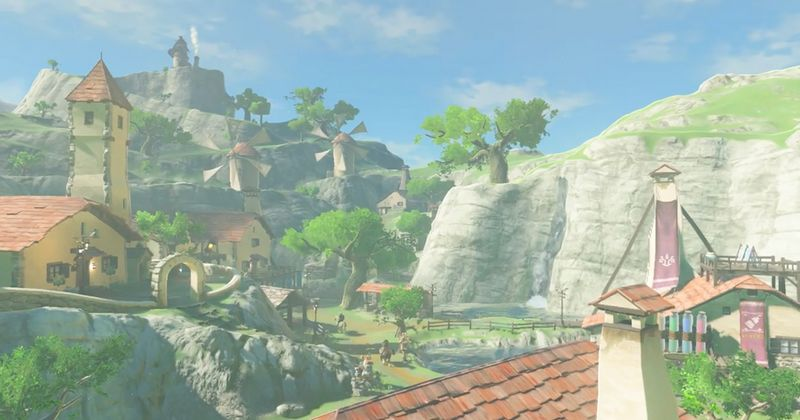 Breath of the Wild usa escalado dinámico de resolución para mantener su fluidez