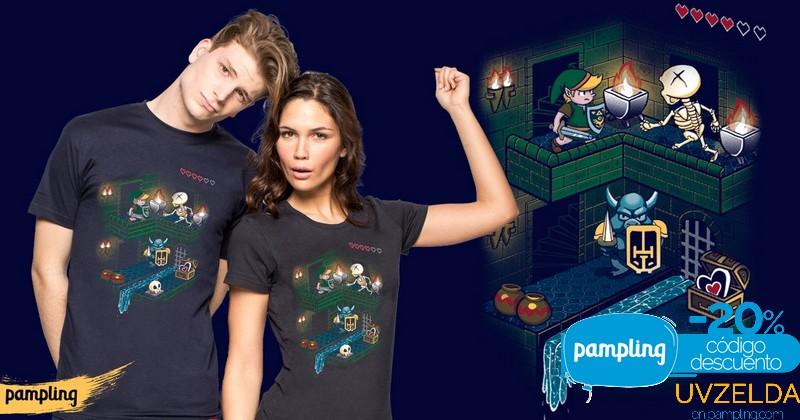 Camiseta Zeldera en Pampling por tiempo limitado a 8 euros