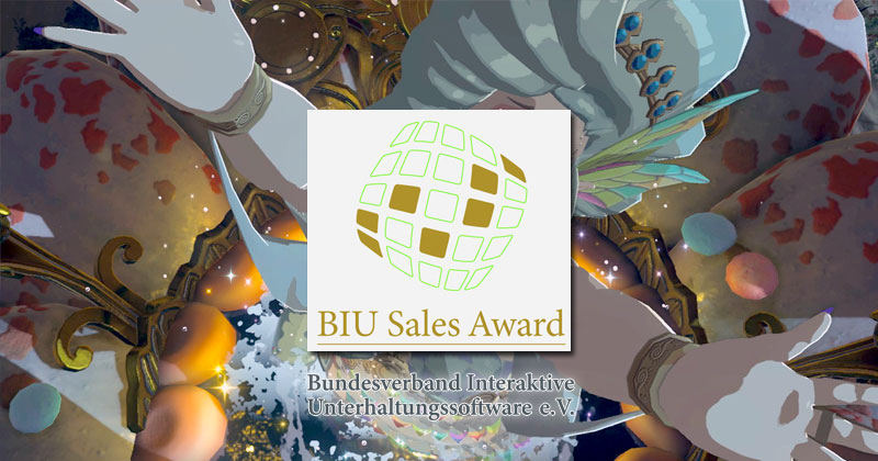 """BIU Sales Award"" para Breath of the Wild en Alemania"