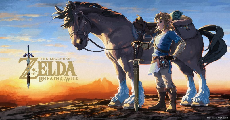 Descarga los fondos de pantalla oficiales de Breath of the Wild