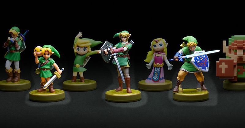 Imágenes de los nuevos Amiibo de Link