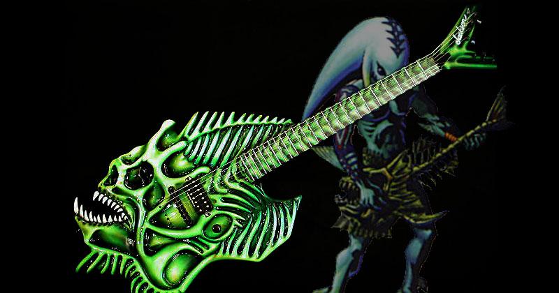 La guitarra de Mikau en eBay