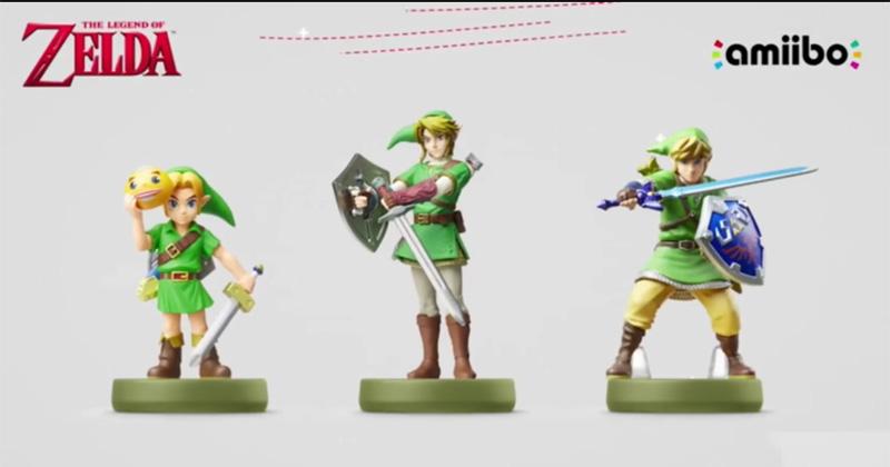 Nuevos amiibo de la saga The Legend of Zelda