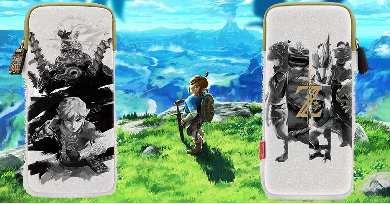 Nueva funda de Breath of the Wild para Nintendo Switch en Amazon Japón