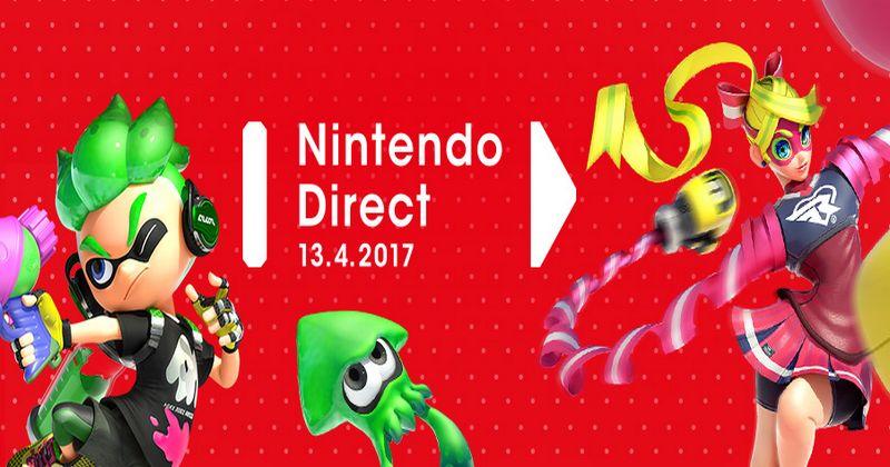 El anunciado Nintendo Direct del próximo 13 de abril