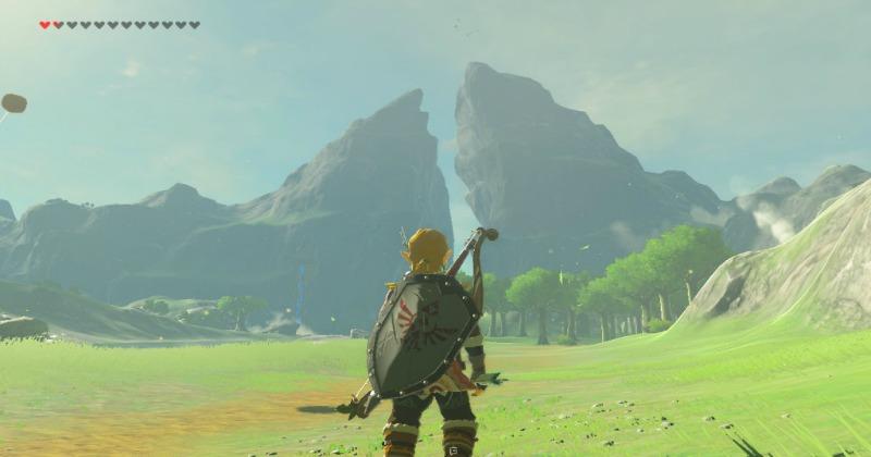 Parece ser que los picos gemelos de Zelda: Breath of the Wild está basada en la realidad