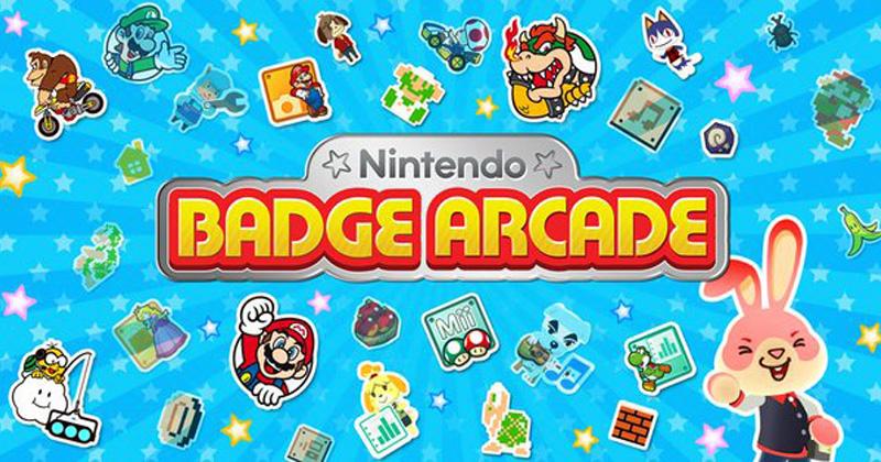 Cierra el Nintendo Badge Arcade