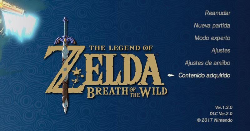 Versión 1.3.0 de Breath of the Wild ya disponible