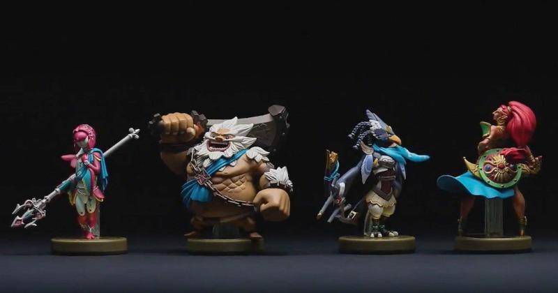 Un vistazo a los próximos amiibos de The Legend of Zelda