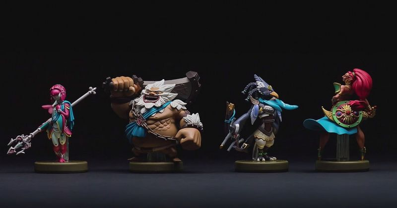 amiibo zelda breath of the wild universo zelda