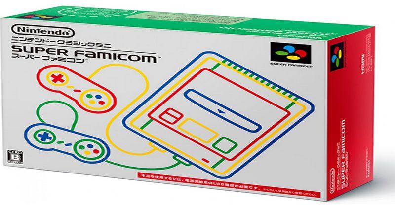 Japón recibirá su SNES Classic Mini en octubre con 5 juegos distintos