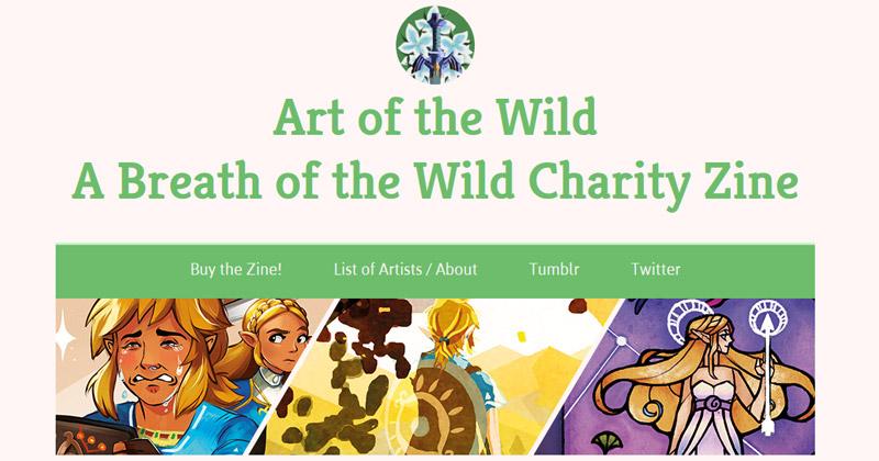 Art of the Wild: Fanzine solidario de Breath of the Wild