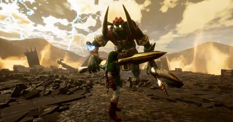 La batalla final de Ocarina of Time en Unreal Engine 4