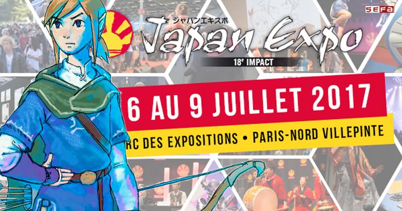 Link en la Japan Expo de París este viernes