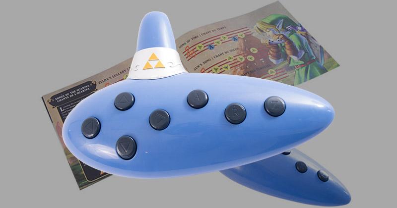 Ocarina del Tiempo electrónica de EBGames