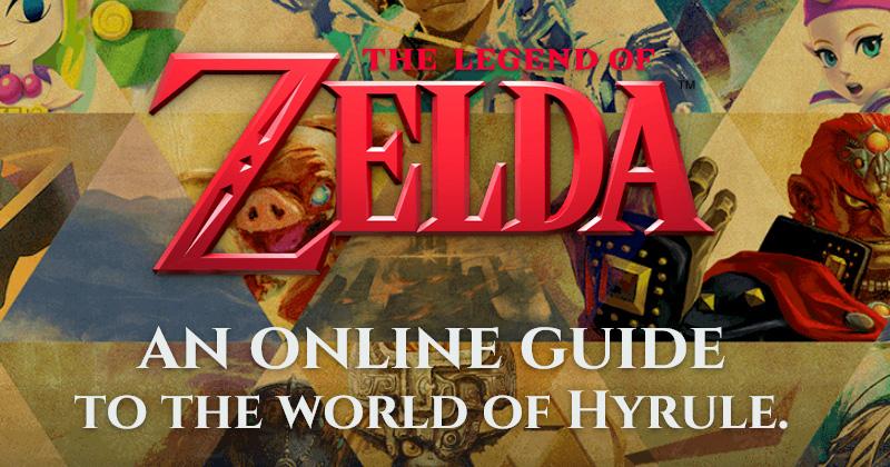 Guía oficial OnLine de Zelda