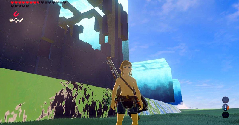 Zona secreta en el DLC de Breath of the Wild