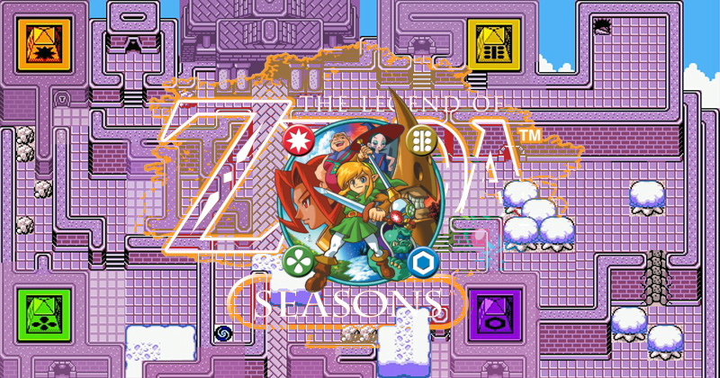 Versión del Templo de Oracle of Seasons
