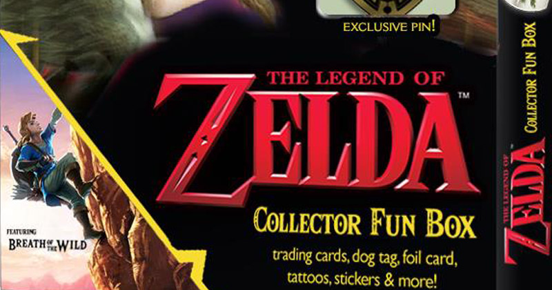 Nuevas cartas coleccionables de Breath of the Wild