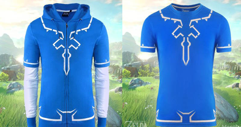 Merchoid sacará camisetas y sudaderas oficiales de Breath of the Wild