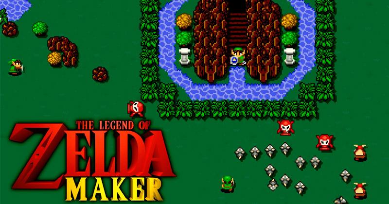 ¿Cómo sería Zelda Maker?