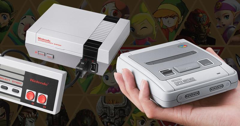 Vuelve NES Mini y más stock de SNES Mini